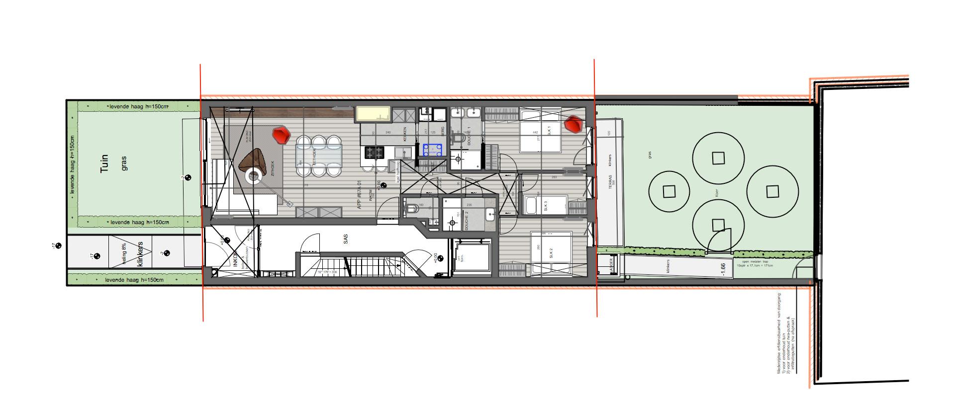 Residentie corneille nieuwbouwappartementen te koop for Appartement te koop knokke