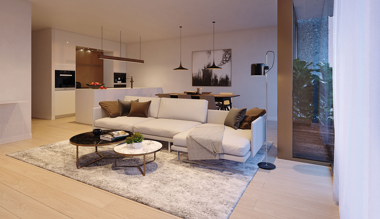 Residentie rodin hoprom for Interieur appartement aan zee