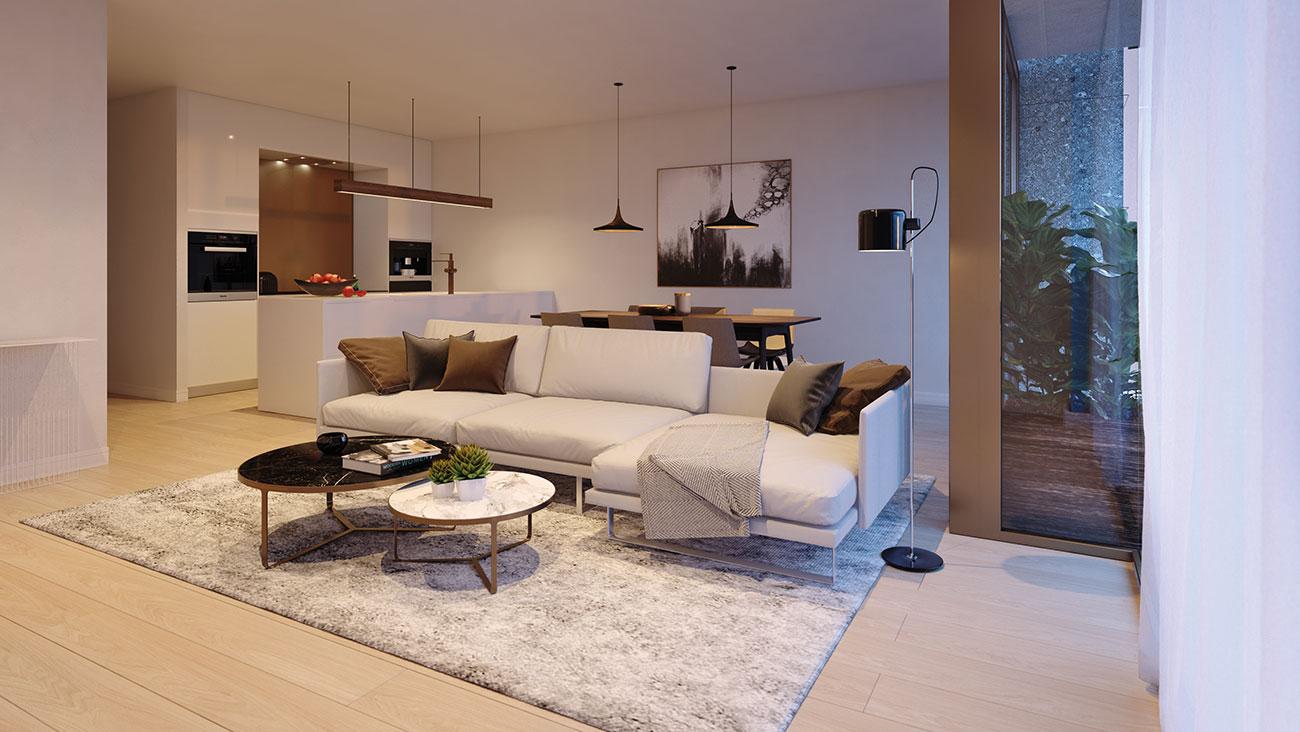 Villa zilverlinde nieuwbouwappartementen in kortrijk te koop