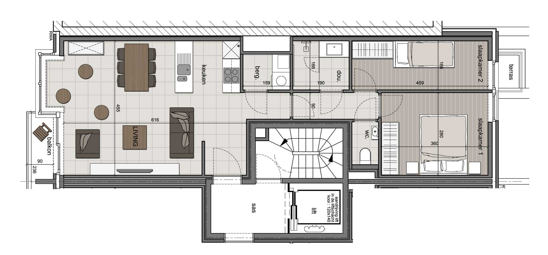 Residentie <br /> Winoc - image appartement-te-koop-koksijde-residentie-winoc-1.1 on https://hoprom.be