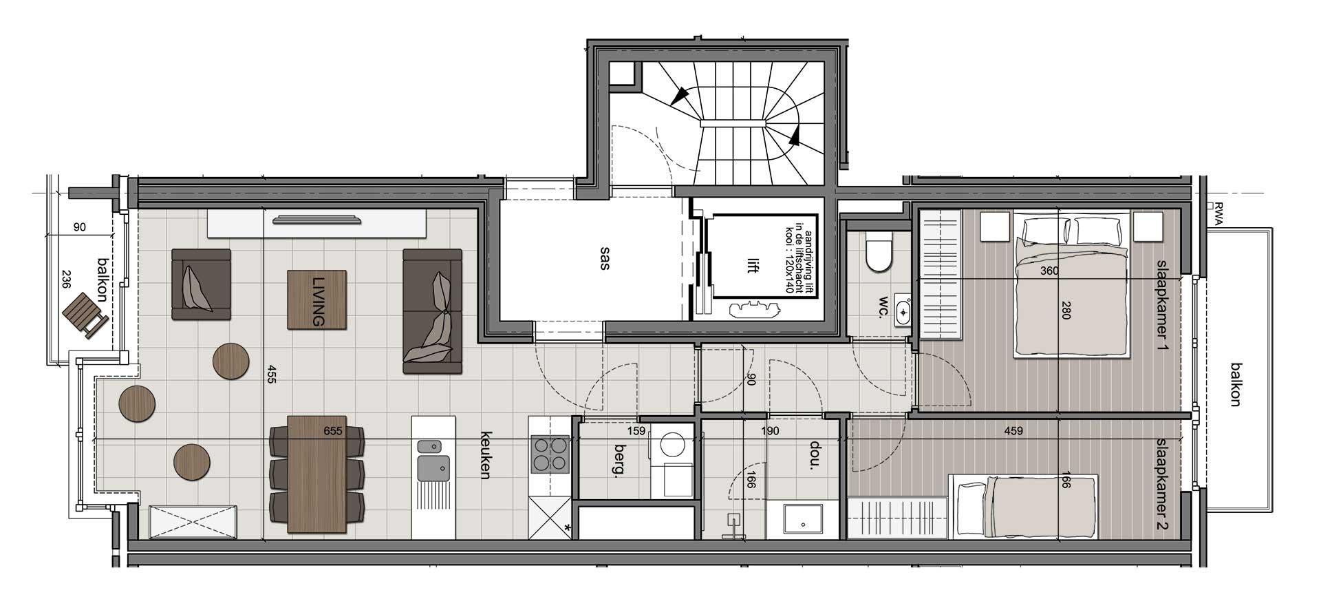 Residentie <br /> Winoc - image appartement-te-koop-koksijde-residentie-winoc-3.2-4.2 on https://hoprom.be