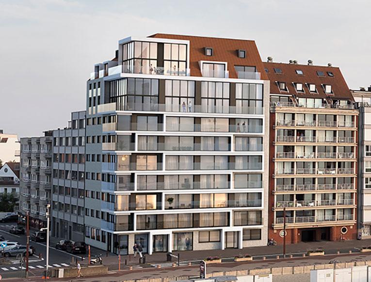 Residentie <br/> Louise - image appartement-te-koop-knokke-hoprom-residentie-christian-gevel on https://hoprom.be