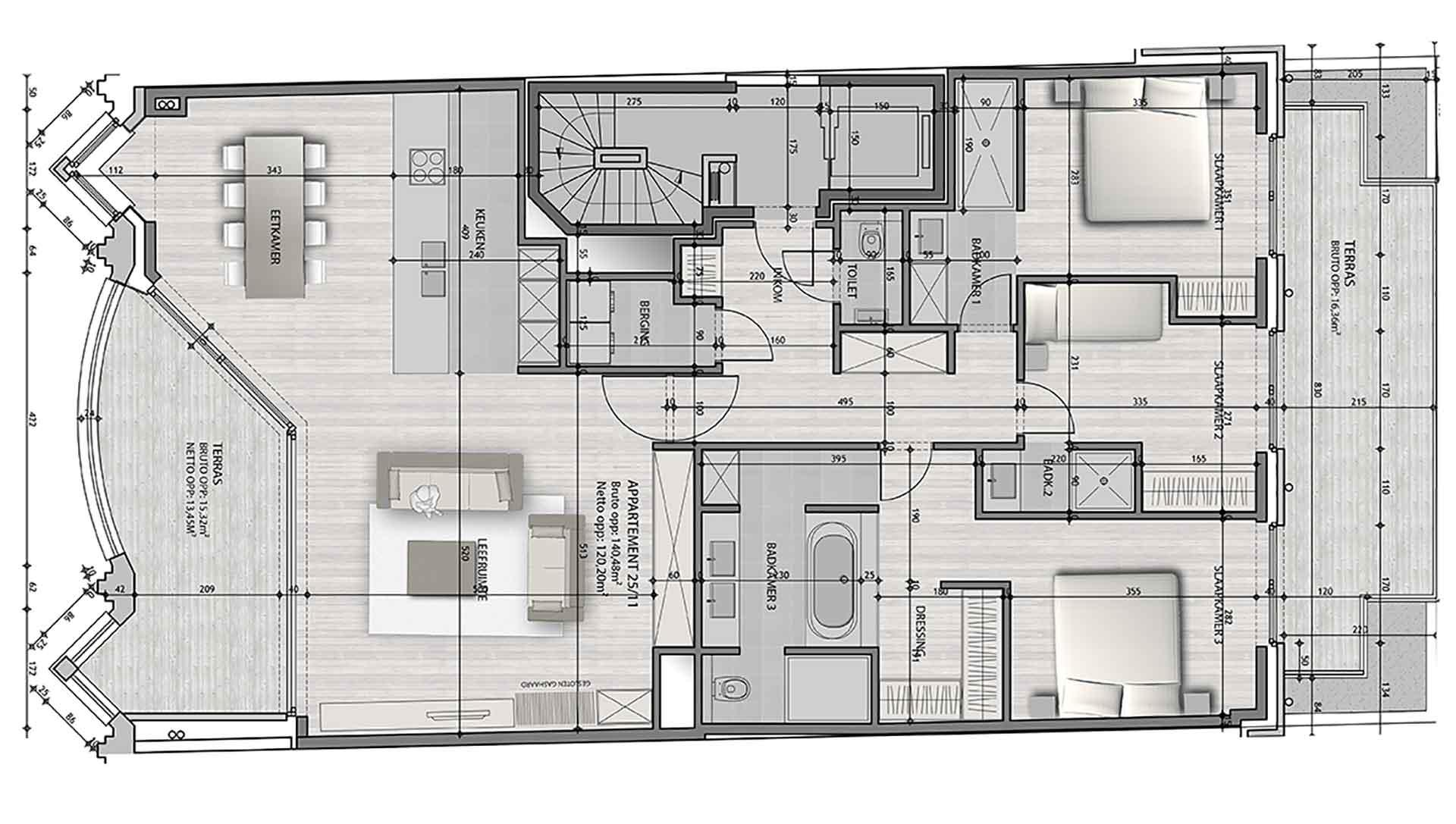 Residentie <br/> Berlage - image appartement-te-koop-knokke-residentie-berlage-11 on https://hoprom.be
