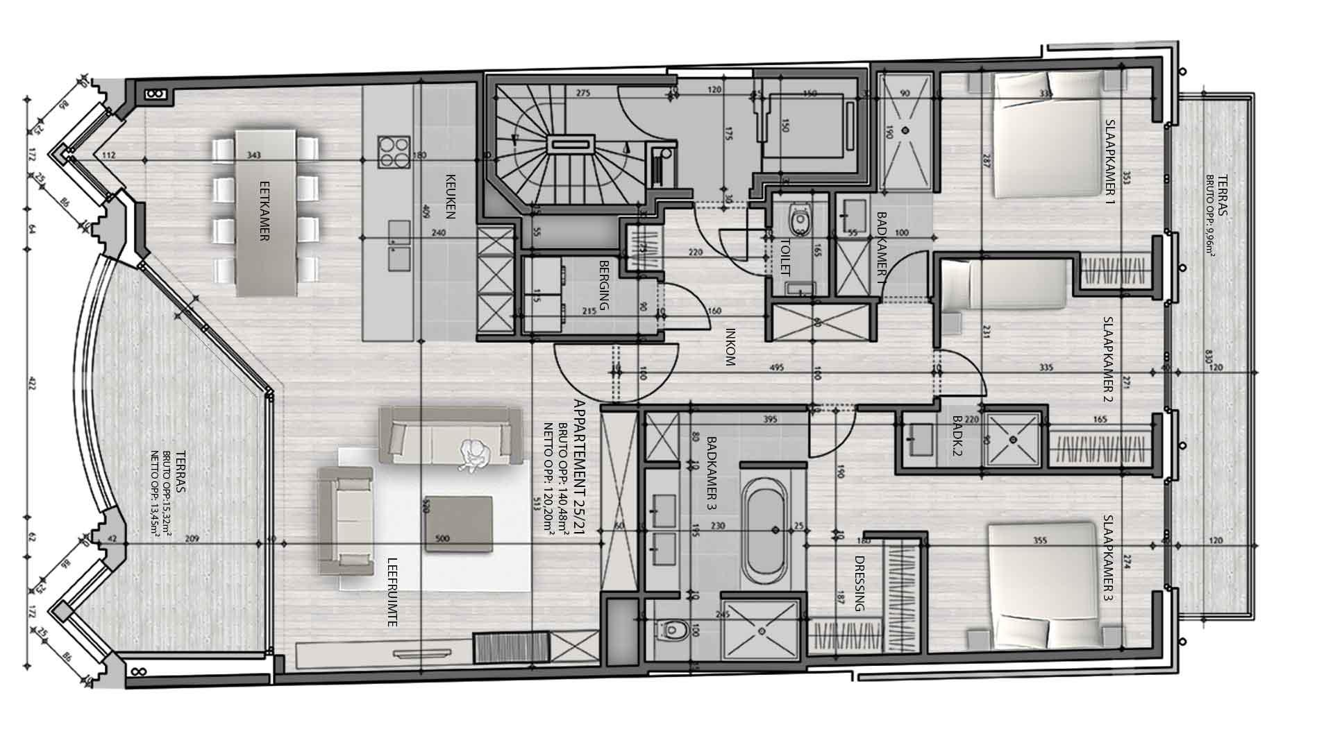 Residentie <br/> Berlage - image appartement-te-koop-knokke-residentie-berlage-21 on https://hoprom.be
