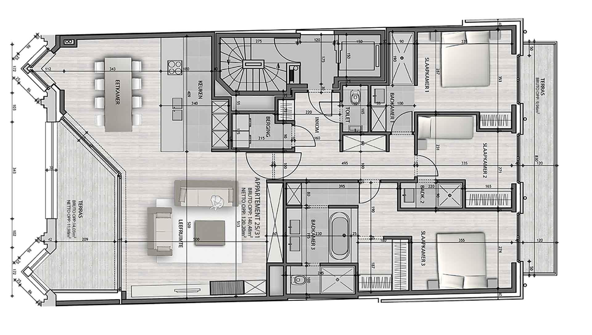 Residentie <br/> Berlage - image appartement-te-koop-knokke-residentie-berlage-31 on https://hoprom.be