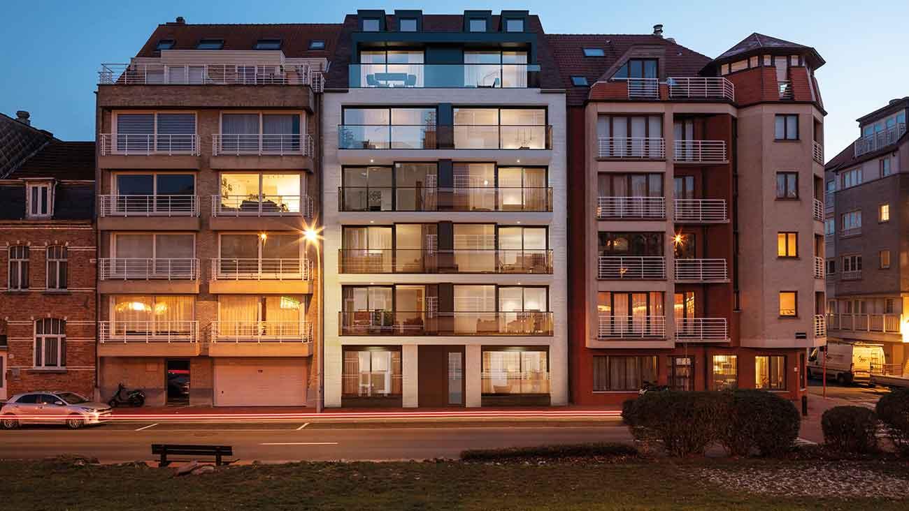 Residentie <br/> Chagall - image appartement-te-koop-knokke-heist-residentie-chagall-gevel-1 on https://hoprom.be