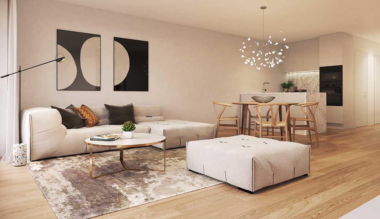 nieuwbouwappartement te koop knokke heist residentie chagall - Hoprom