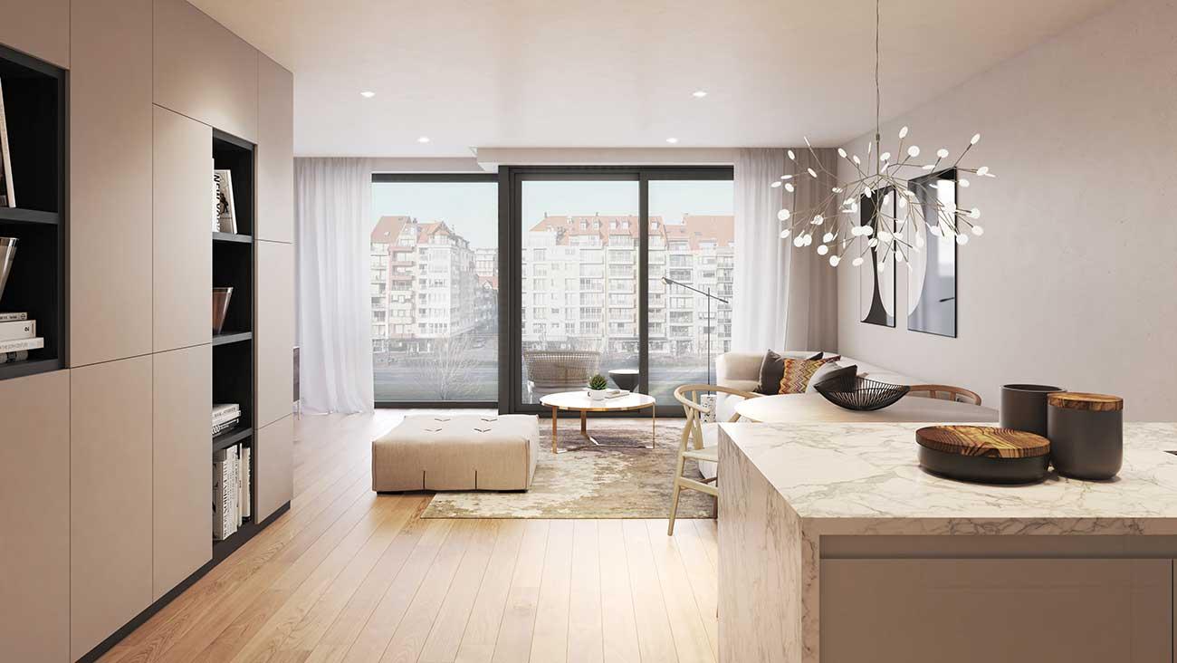 Residentie <br/> Chagall - image appartement-te-koop-knokke-heist-residentie-chagall-interieur-1 on https://hoprom.be