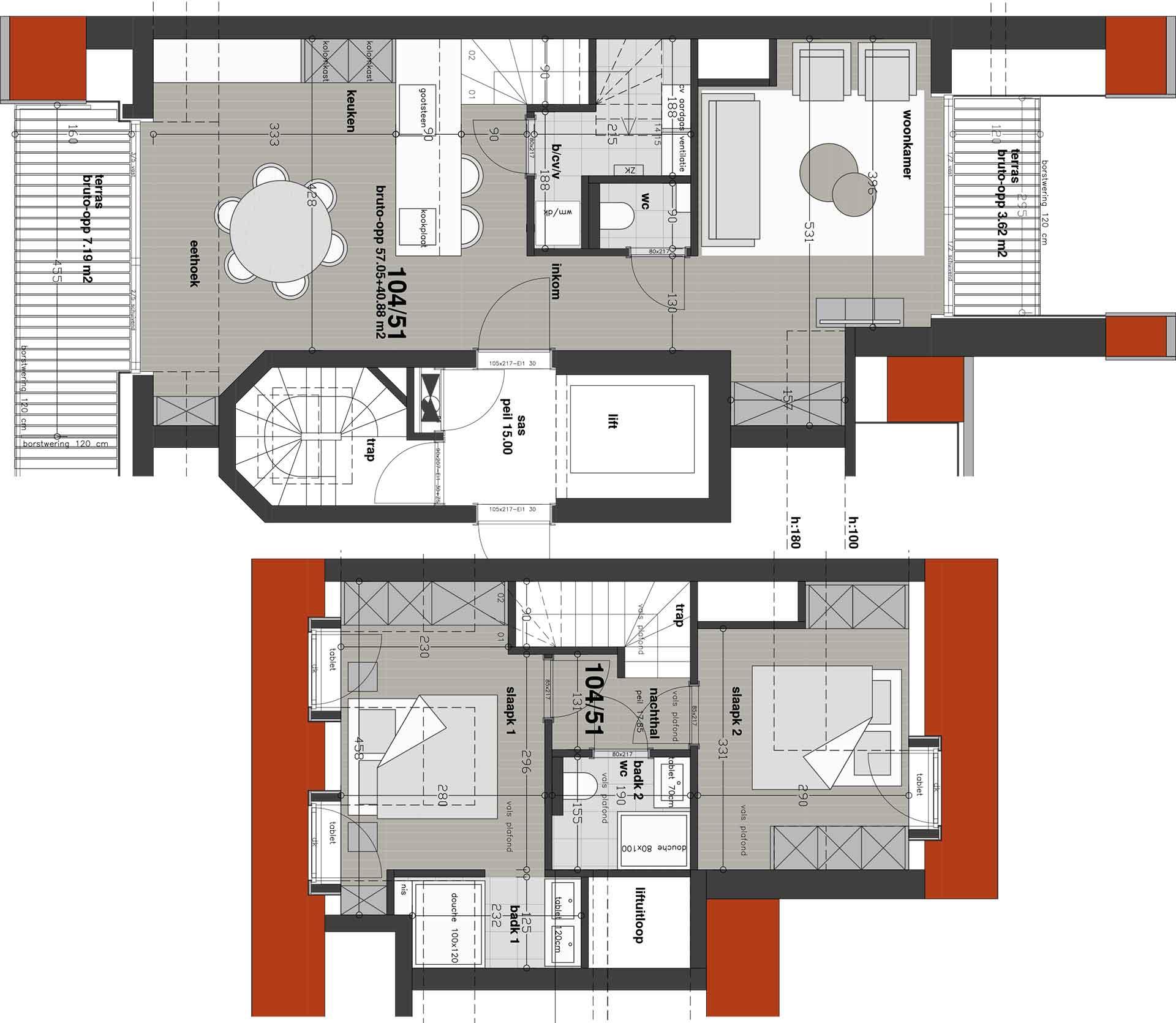 Residentie <br/> Chagall - image appartement-te-koop-knokke-heist-residentie-chagall-plan-51 on https://hoprom.be