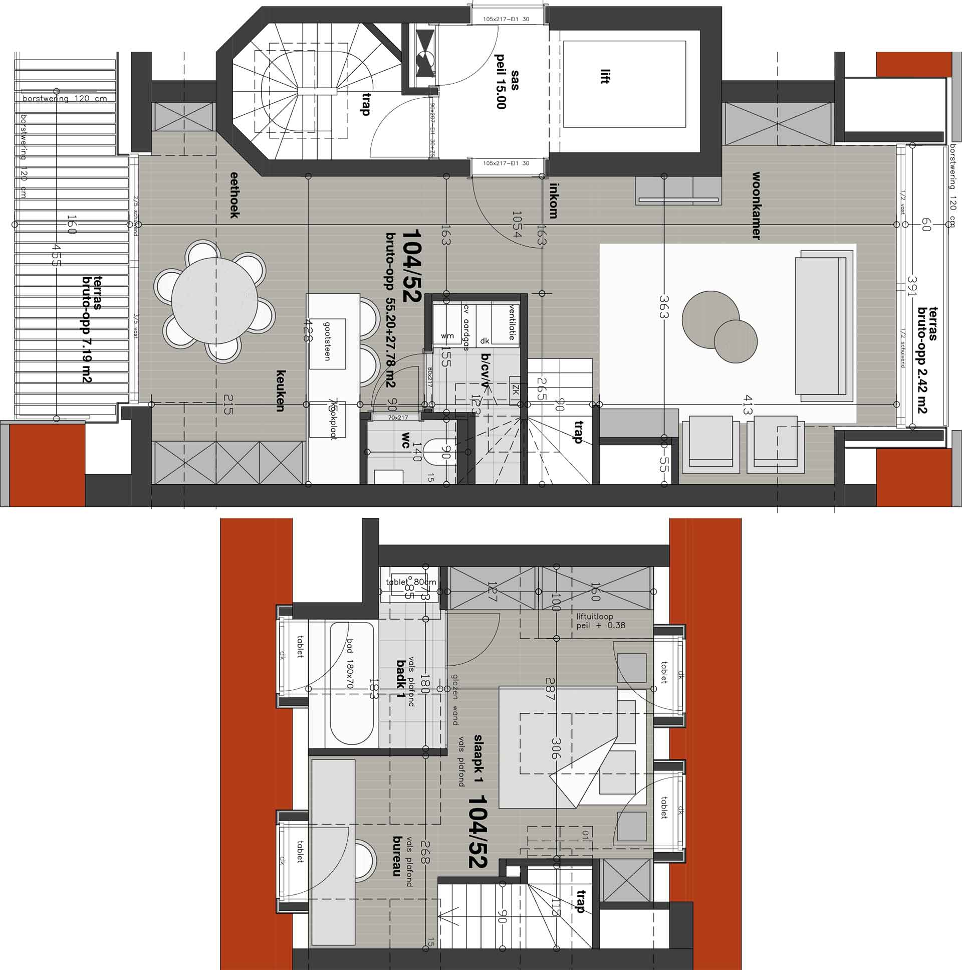 Residentie <br/> Chagall - image appartement-te-koop-knokke-heist-residentie-chagall-plan-52 on https://hoprom.be