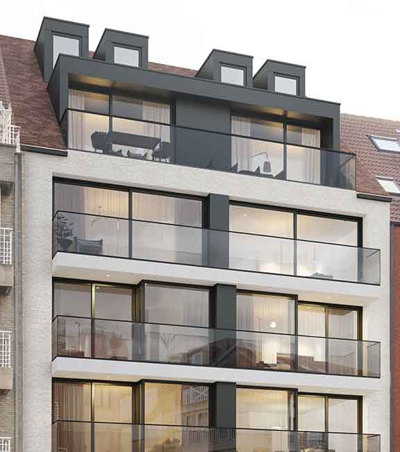 Residentie <br/> Fontana - image appartement-te-koop-knokke-heist-residentie-chagall-project on https://hoprom.be