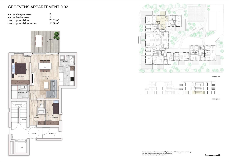 Villa<br/> Duchamp - image 161040_AB_v2019_-Sheet-V-0-02-Verkoopsplan-Unit-0-02-Groot on https://hoprom.be