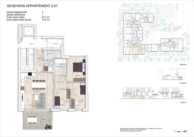Villa<br/> Duchamp - image 161040_AB_v2019_-Sheet-V-0-07-Verkoopsplan-Unit-0-07-Groot on https://hoprom.be