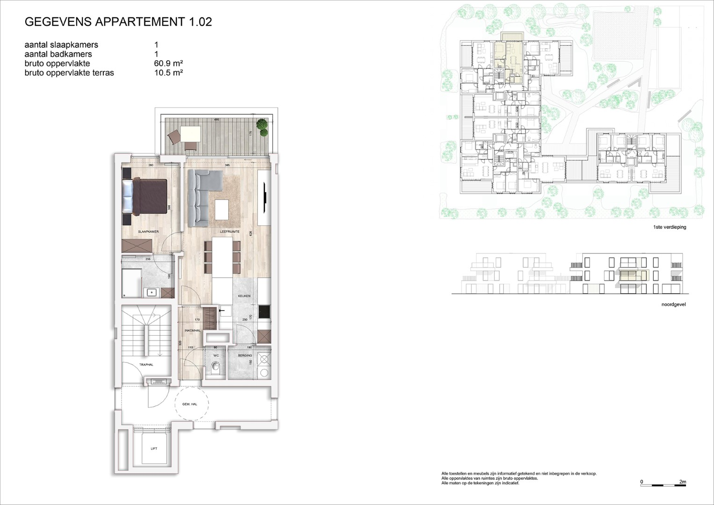 Villa<br/> Duchamp - image 161040_AB_v2019_-Sheet-V-1-02-Verkoopsplan-Unit-1-02-Groot on https://hoprom.be