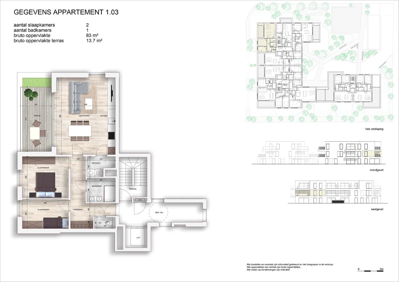Villa<br/> Duchamp - image 161040_AB_v2019_-Sheet-V-1-03-Verkoopsplan-Unit-1-03-Groot on https://hoprom.be