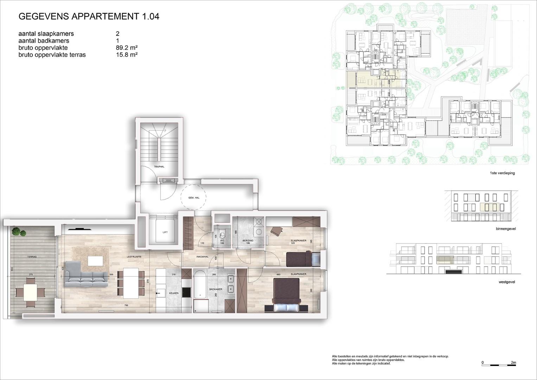 Villa<br/> Duchamp - image 161040_AB_v2019_-Sheet-V-1-04-Verkoopsplan-Unit-1-04-Groot on https://hoprom.be