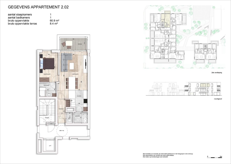 Villa<br/> Duchamp - image 161040_AB_v2019_-Sheet-V-2-02-Verkoopsplan-Unit-2-02-Groot on https://hoprom.be