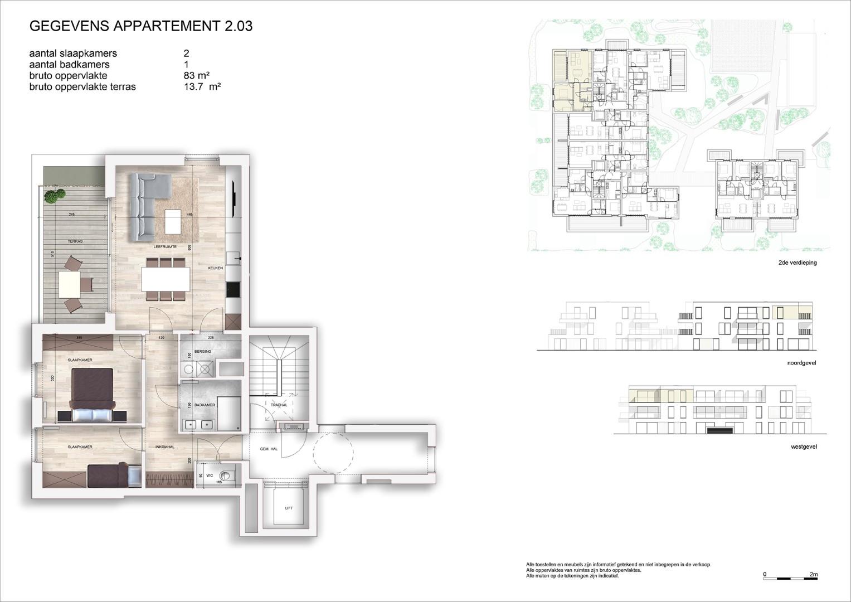 Villa<br/> Duchamp - image 161040_AB_v2019_-Sheet-V-2-03-Verkoopsplan-Unit-2-03-Groot on https://hoprom.be