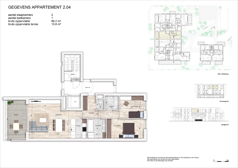 Villa<br/> Duchamp - image 161040_AB_v2019_-Sheet-V-2-04-Verkoopsplan-Unit-2-04-Groot on https://hoprom.be