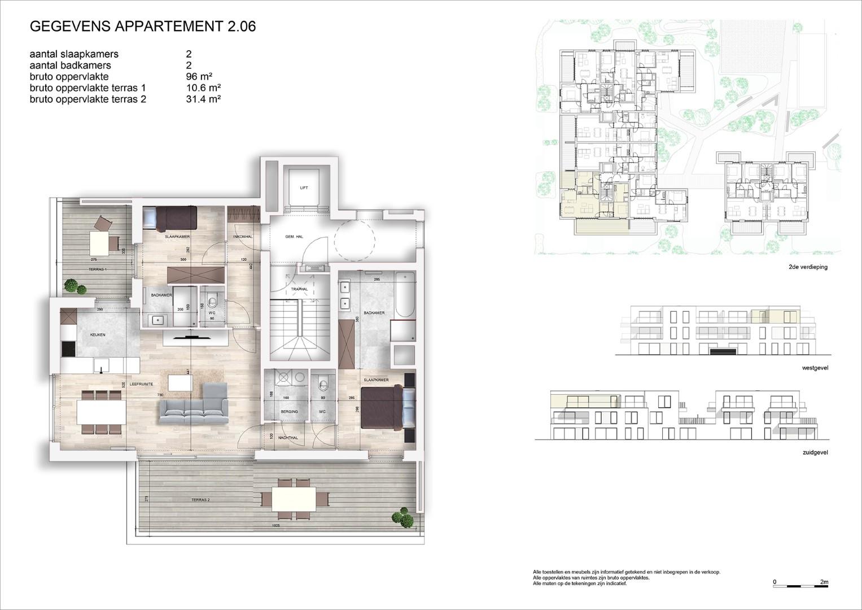 Villa<br/> Duchamp - image 161040_AB_v2019_-Sheet-V-2-06-Verkoopsplan-Unit-2-06-Groot on https://hoprom.be