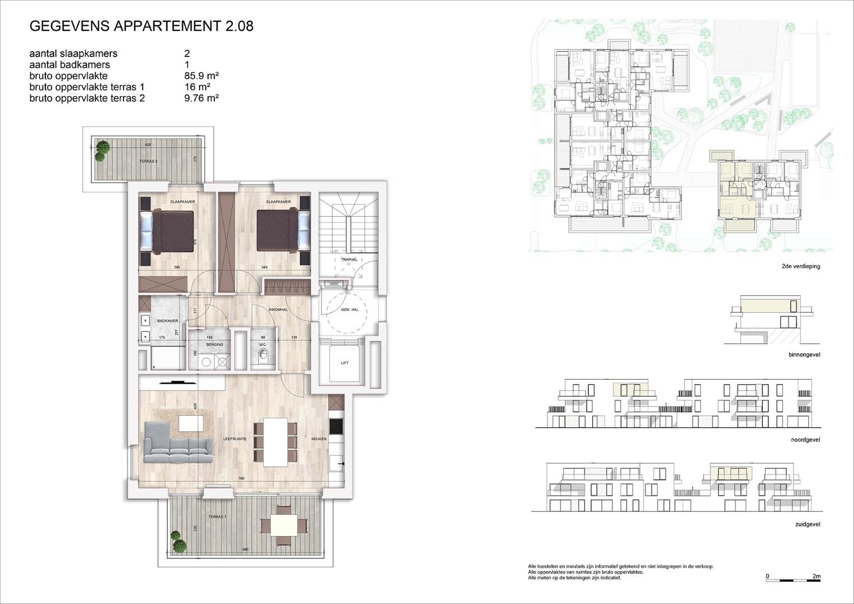 Villa<br/> Duchamp - image 161040_AB_v2019_-Sheet-V-2-08-Verkoopsplan-Unit-2-08-Groot on https://hoprom.be