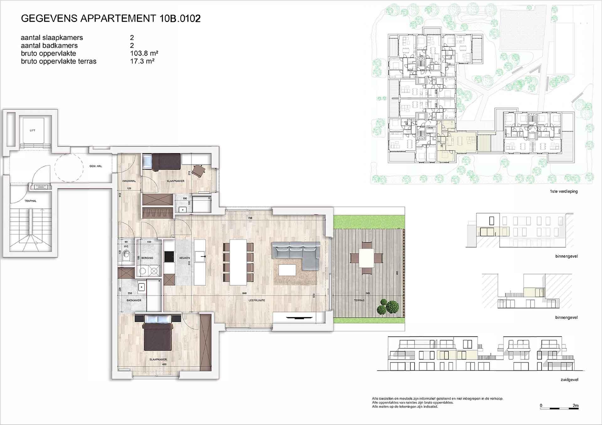 Villa<br/> Duchamp - image appartement-te-koop-nieuwpoort-villa-duchamp-10B0102 on https://hoprom.be