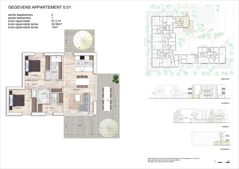Villa<br/> Duchamp - image appartement-te-koop-nieuwpoort-villa-duchamp-louisweg-hoprom-12A on https://hoprom.be