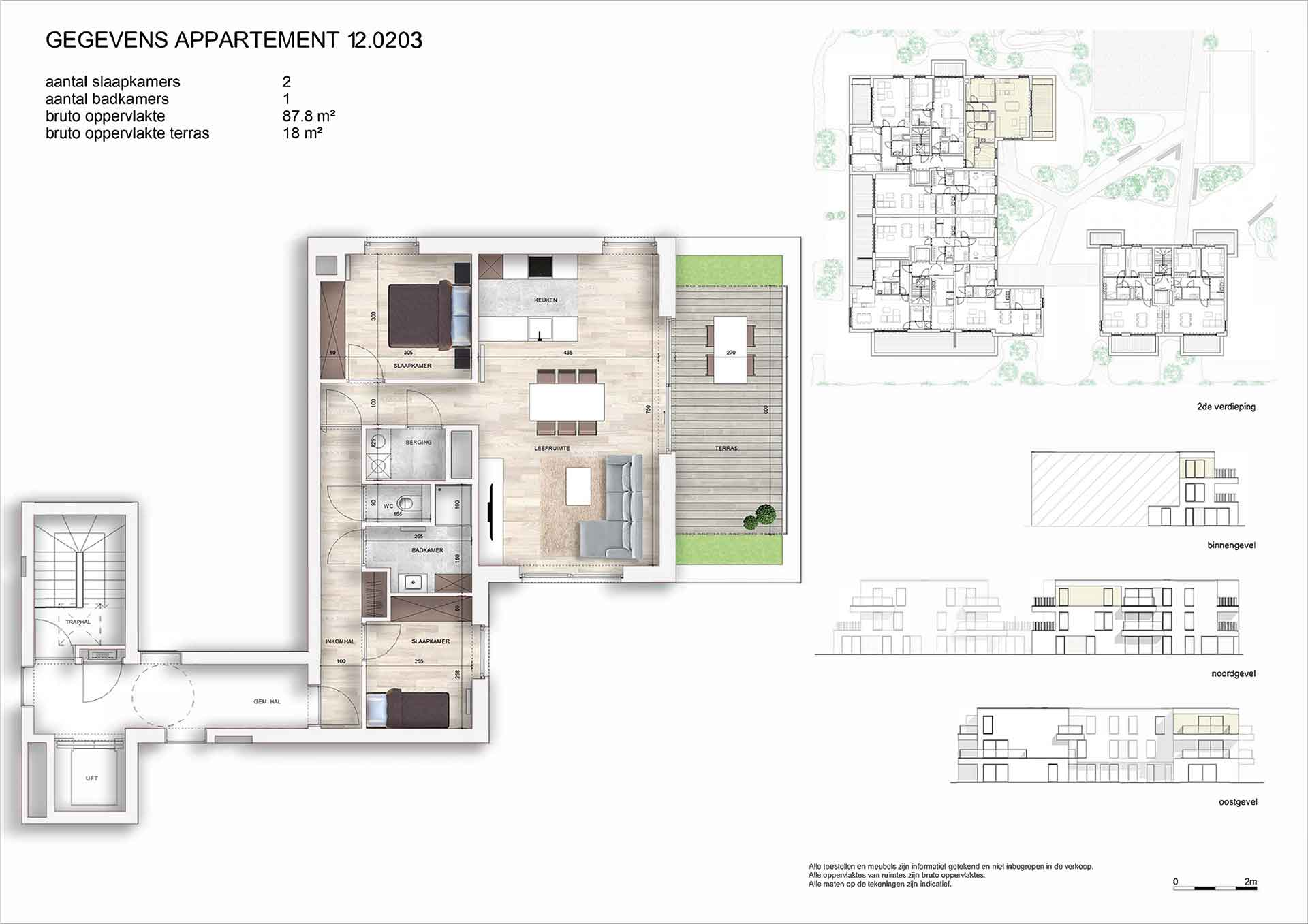 Villa<br/> Duchamp - image appartement-te-koop-nieuwpoort-villa-duchamp-plan-appartement-12-0203 on https://hoprom.be