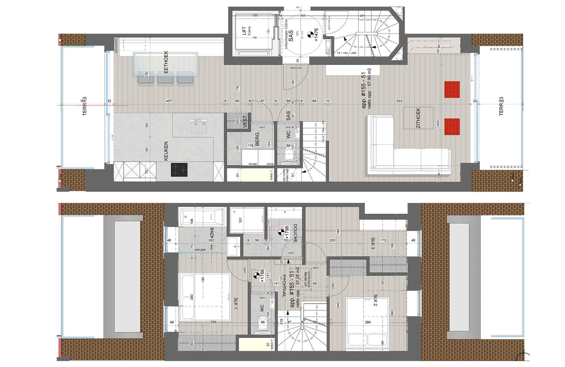 Residentie <br/> Fontana - image residentie-fontana-appartement-te-koop-knokke-plannen-155-51-1 on https://hoprom.be
