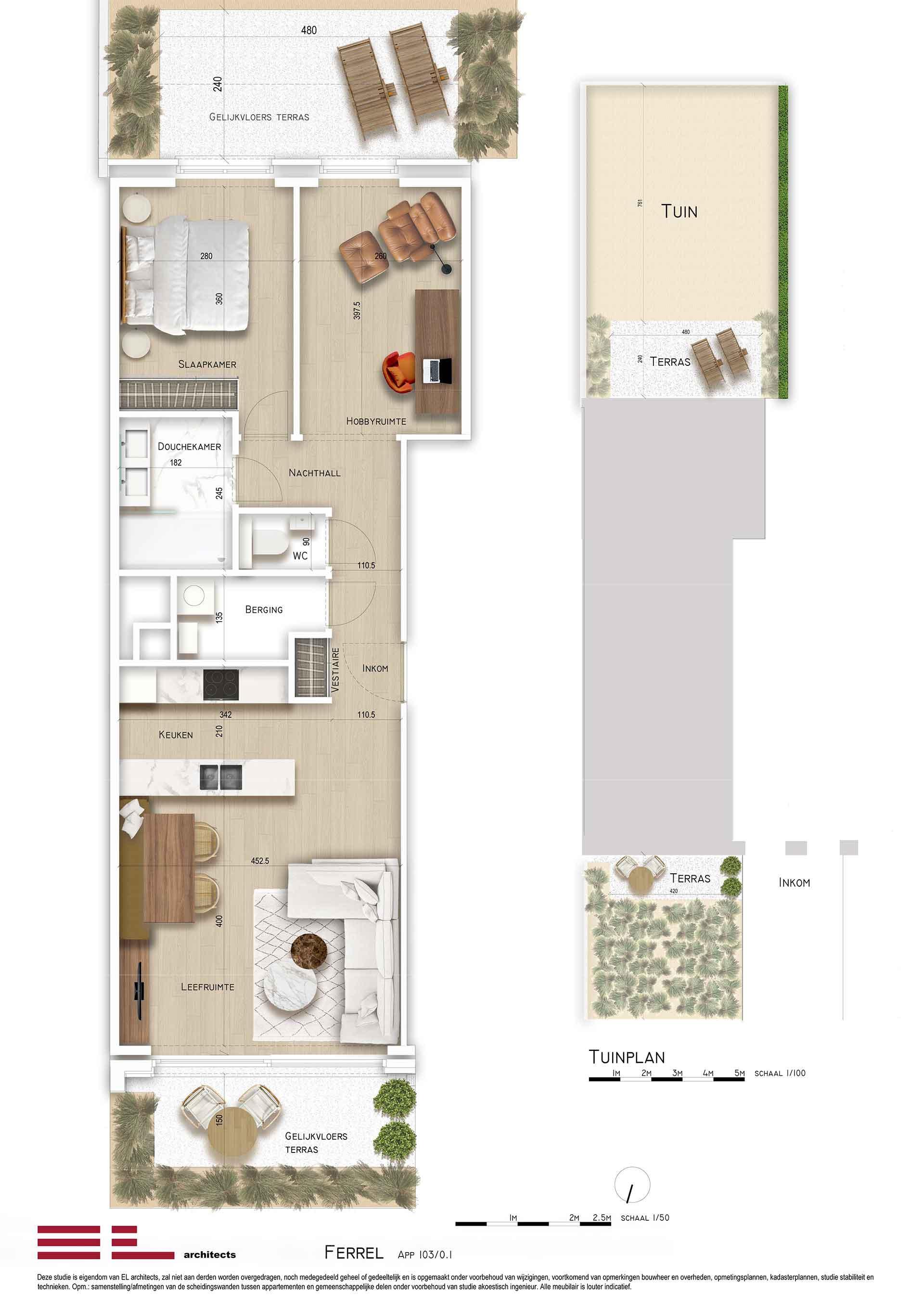 Residentie <br/> Ferrel - image appartement-te-koop-sint-idesbald-residentie-ferrel-appartement-gv01 on https://hoprom.be
