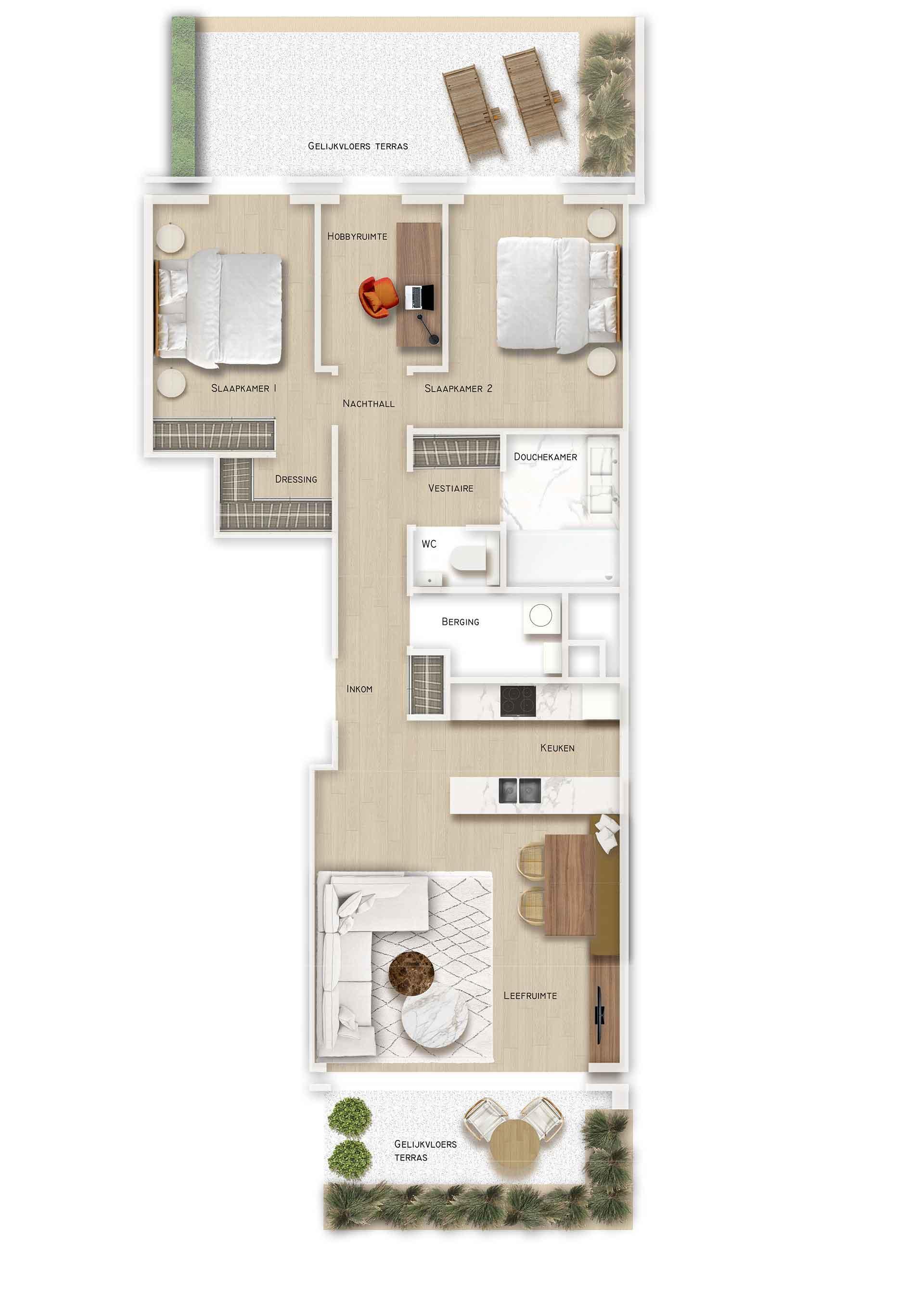 Residentie <br/> Ferrel - image appartement-te-koop-sint-idesbald-residentie-ferrel-appartement-gv02 on https://hoprom.be