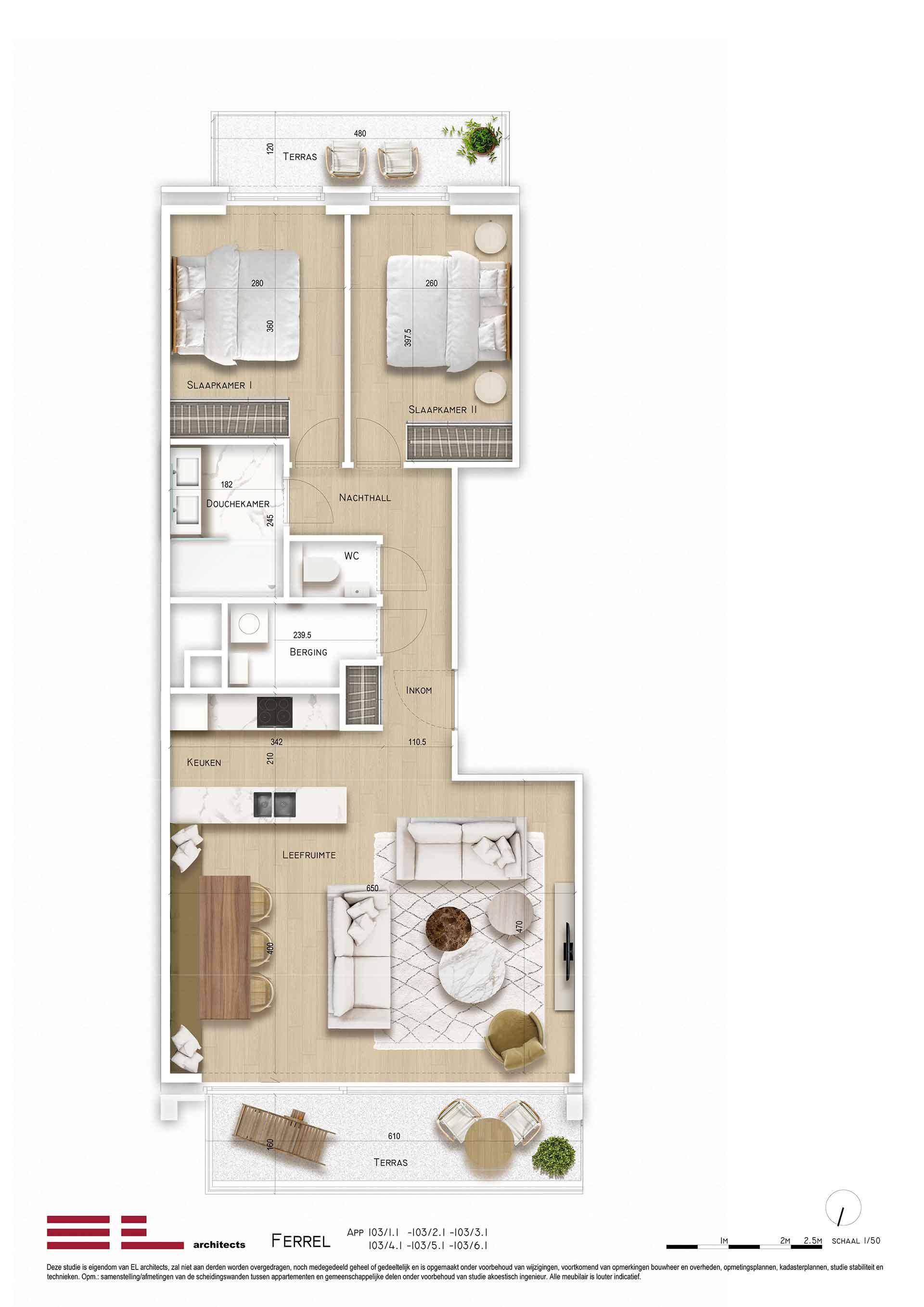 Residentie <br/> Ferrel - image appartement-te-koop-sint-idesbald-residentie-ferrel-appartement-type1 on https://hoprom.be