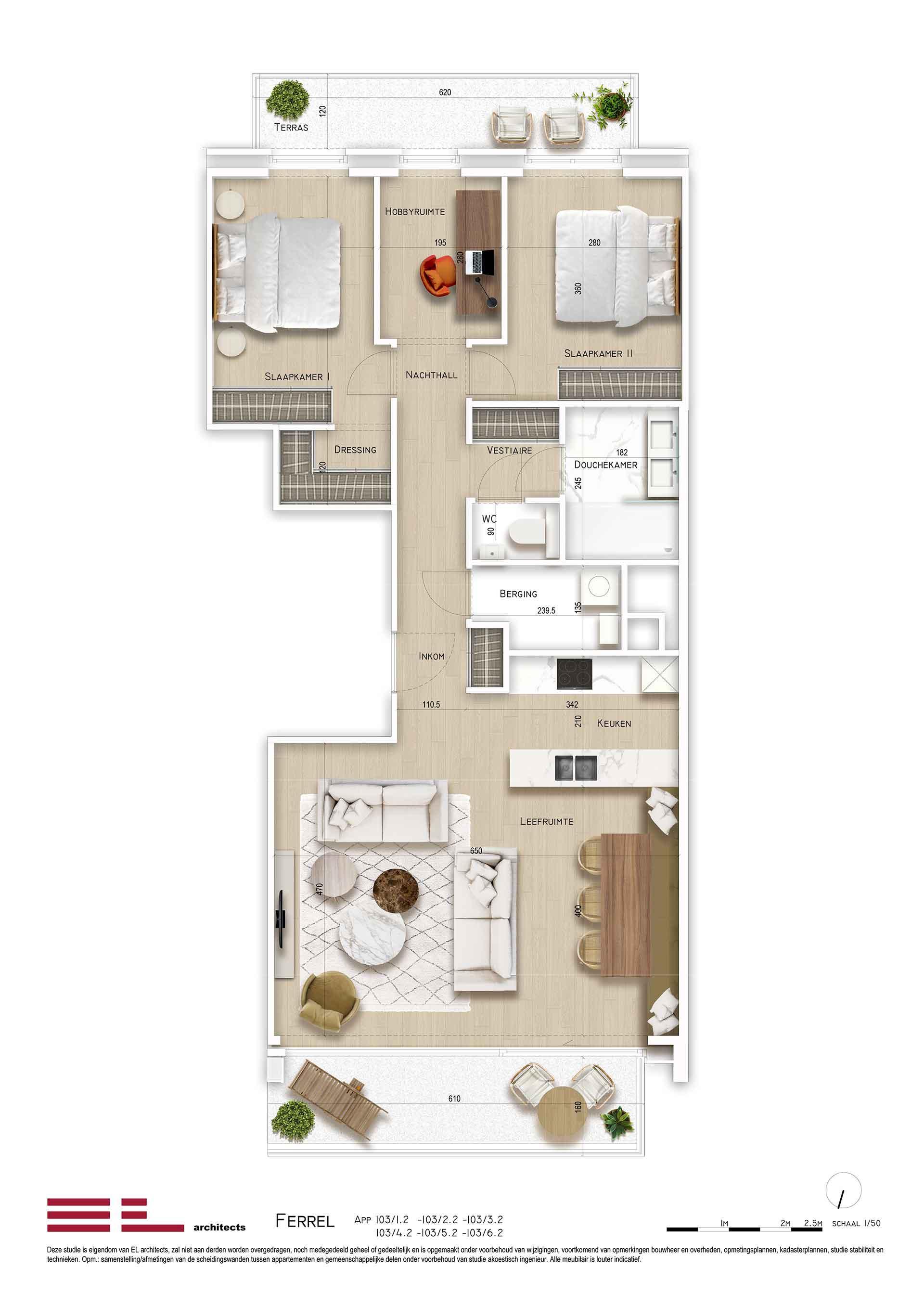 Residentie <br/> Ferrel - image appartement-te-koop-sint-idesbald-residentie-ferrel-appartement-type2 on https://hoprom.be