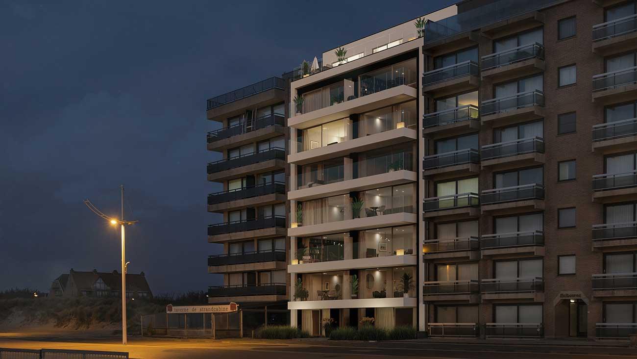 Residentie <br/> Ferrel - image appartement-te-koop-sint-idesbald-residentie-ferrel-exterieur2 on https://hoprom.be