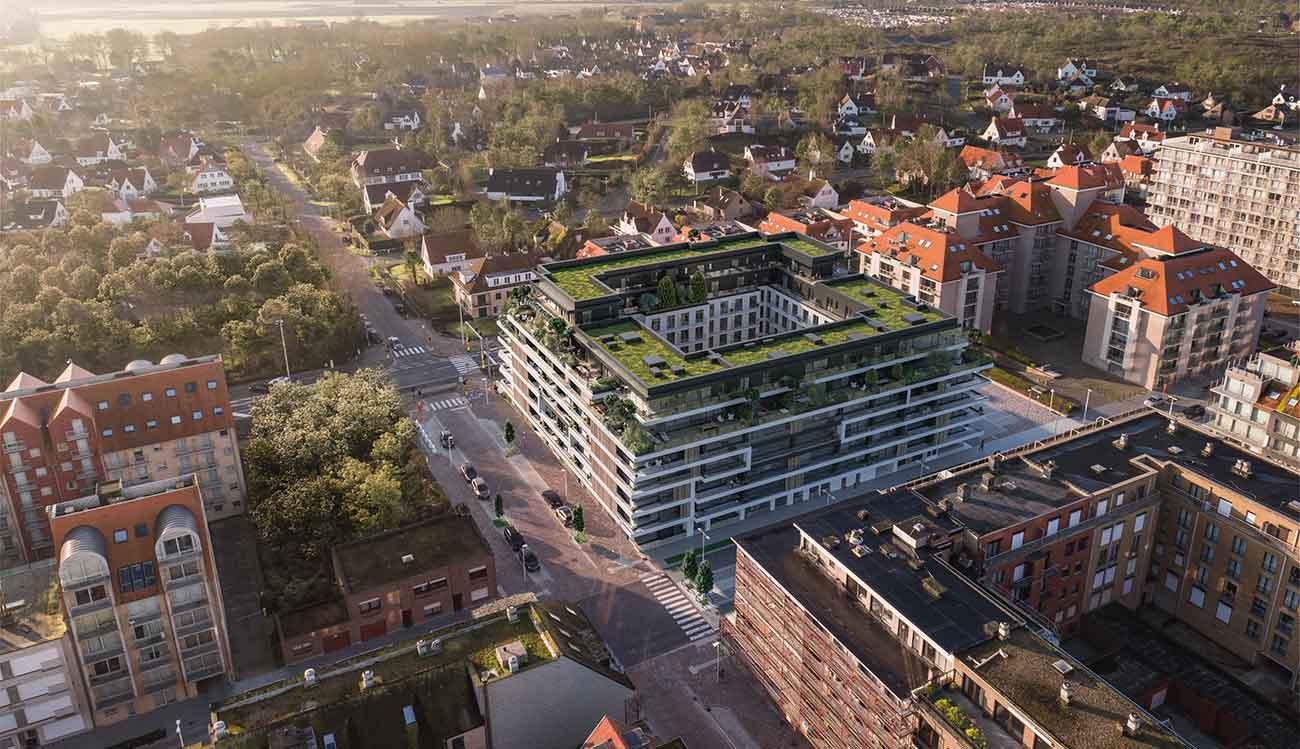 The Green - image the-green-nieuwpoort-nieuwbouw-te-koop-appartementen-hero on https://hoprom.be