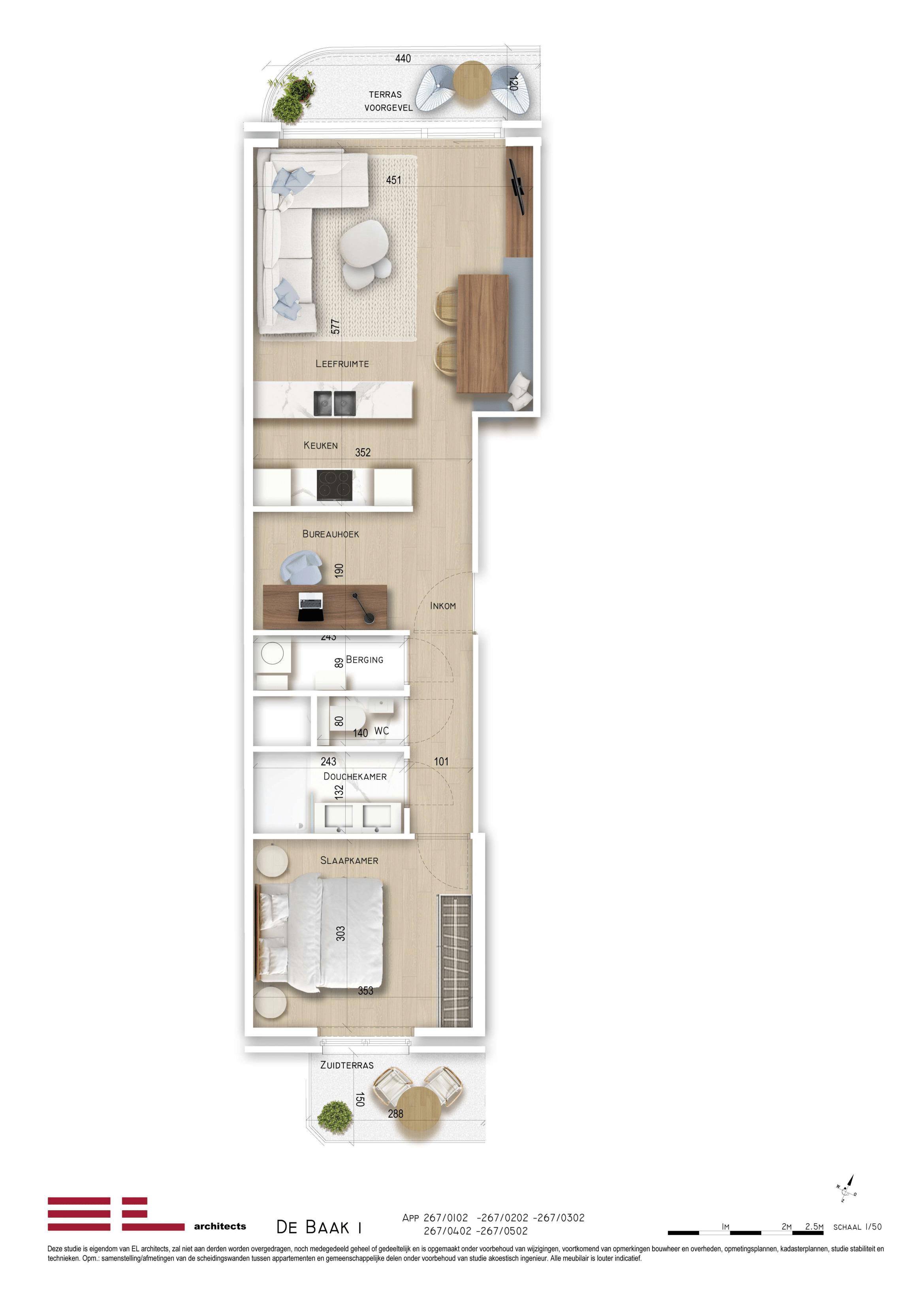 Residentie <br /> De Baak I - image Type-2-de-Baak-1-1 on https://hoprom.be