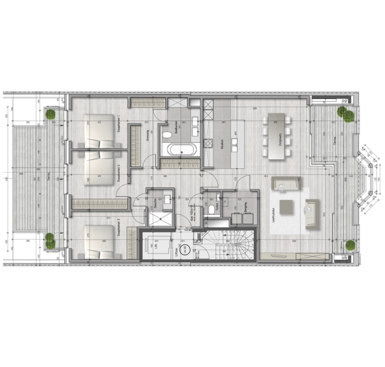 Residentie <br/> Moore - image MOORE_App1.1 on https://hoprom.be