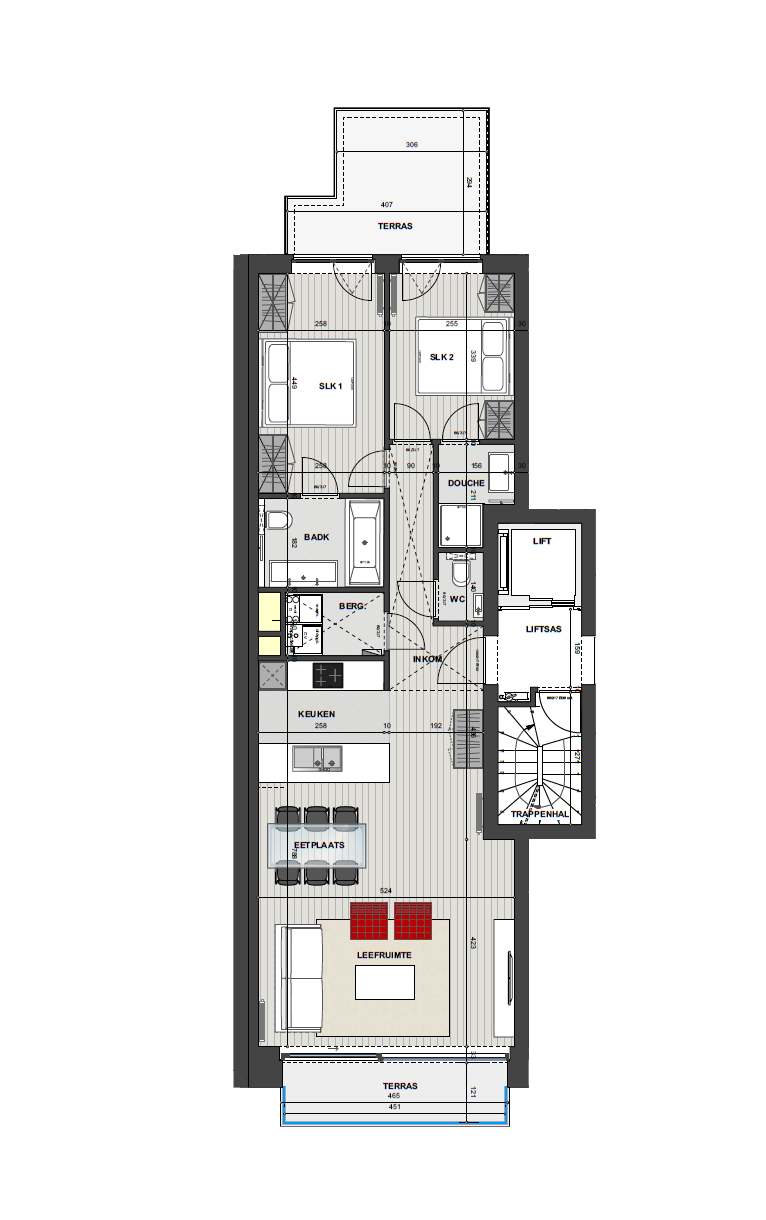 Residentie <br/> Miro - image Appartement1.1 on https://hoprom.be