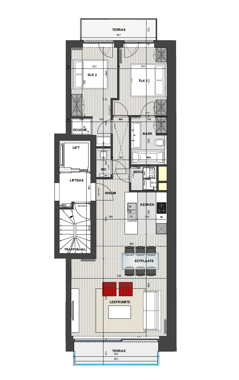Residentie <br/> Miro - image Appartement1.2 on https://hoprom.be