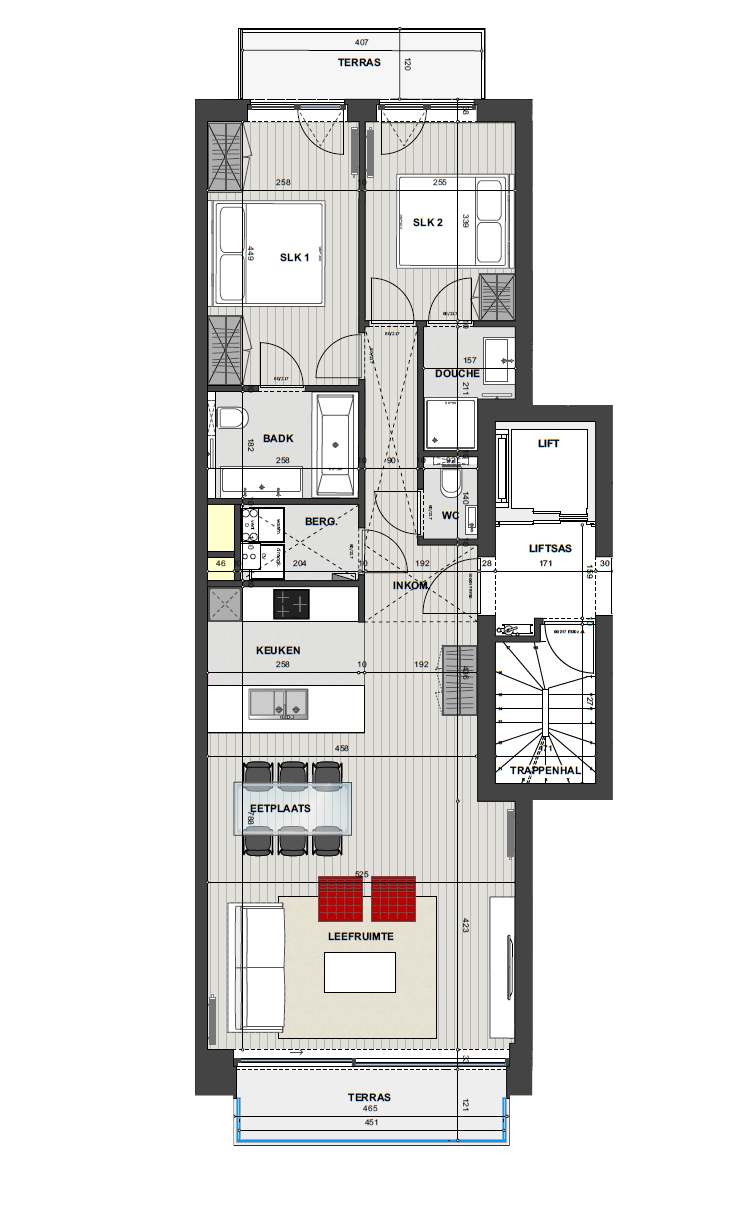 Residentie <br/> Miro - image Appartement2.1 on https://hoprom.be