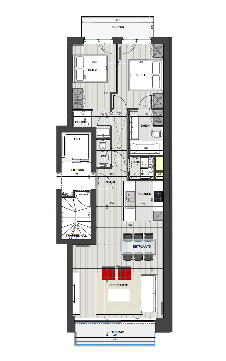 Residentie <br/> Miro - image Appartement2.2 on https://hoprom.be