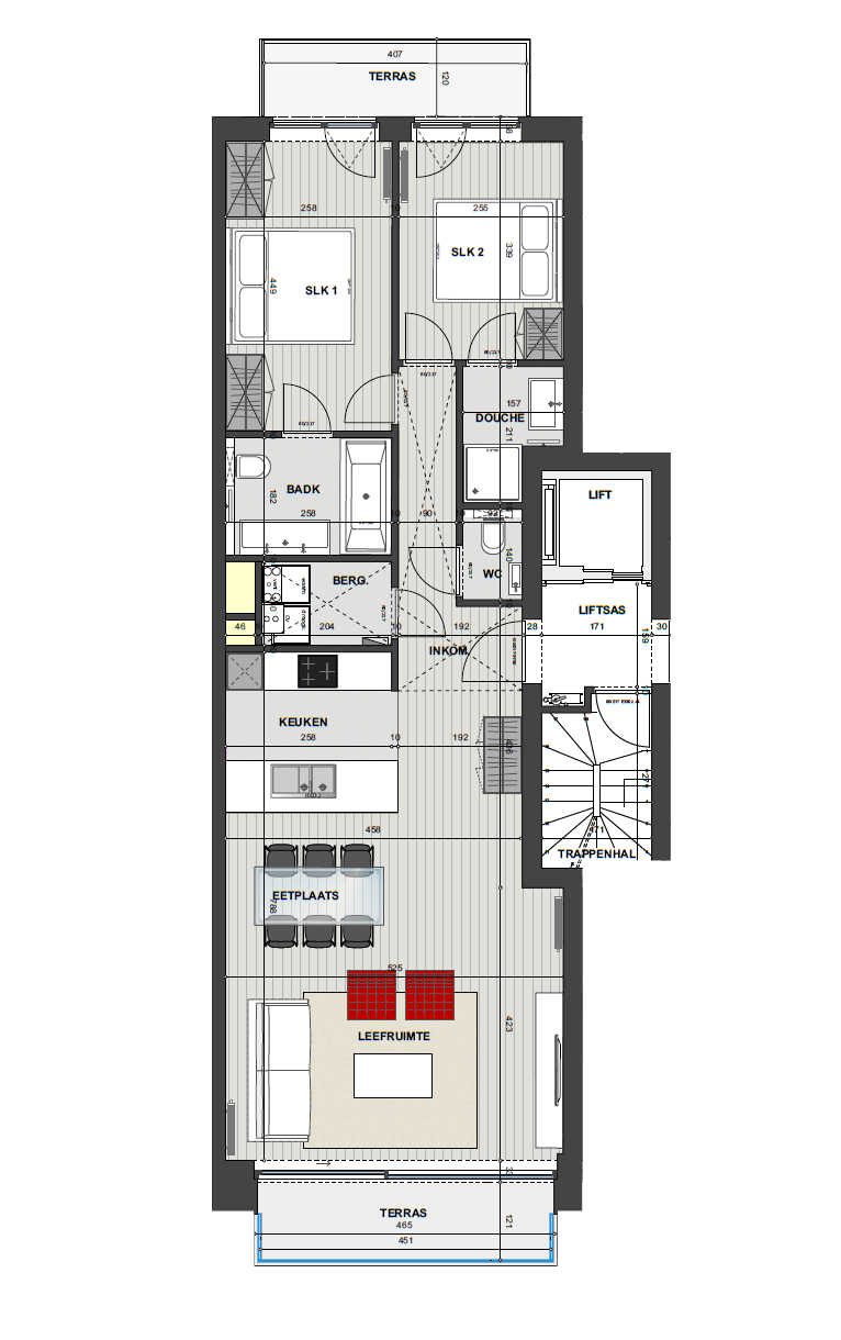 Residentie <br/> Miro - image Appartement3.1 on https://hoprom.be