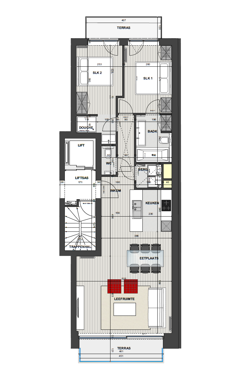 Residentie <br/> Miro - image Appartement3.2 on https://hoprom.be