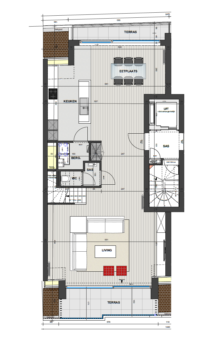 Residentie <br/> Dali - image Penthouse4.1.1-1 on https://hoprom.be